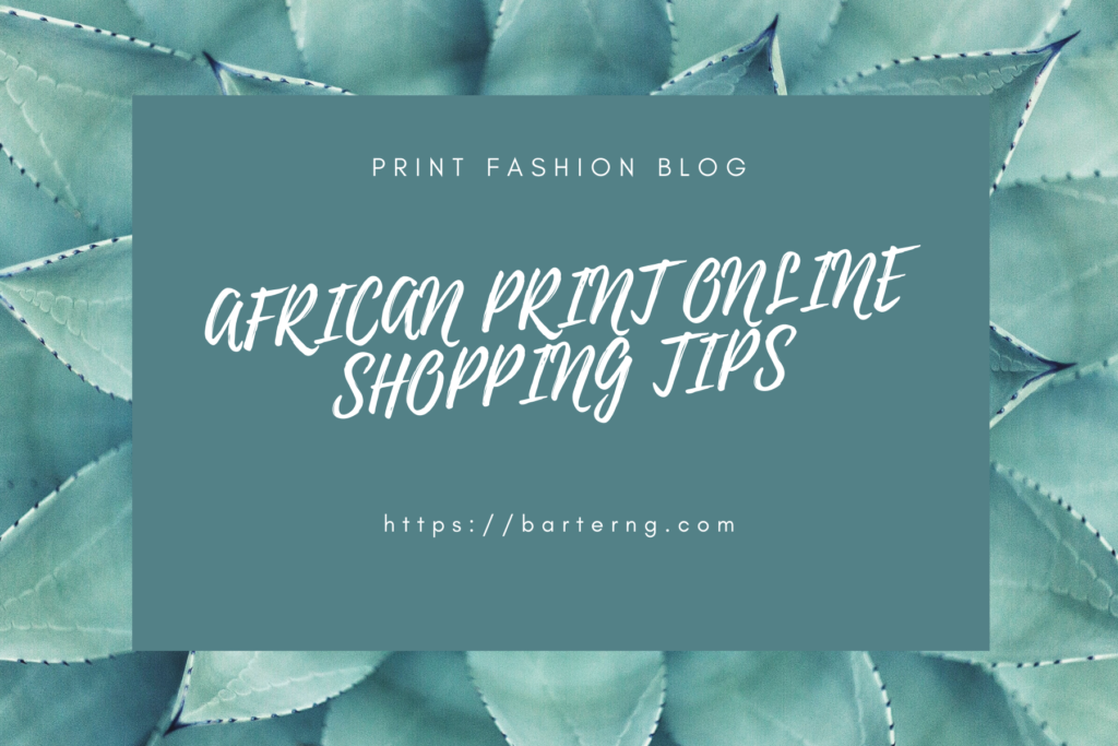 Shopping online AFRICAN PRINT
