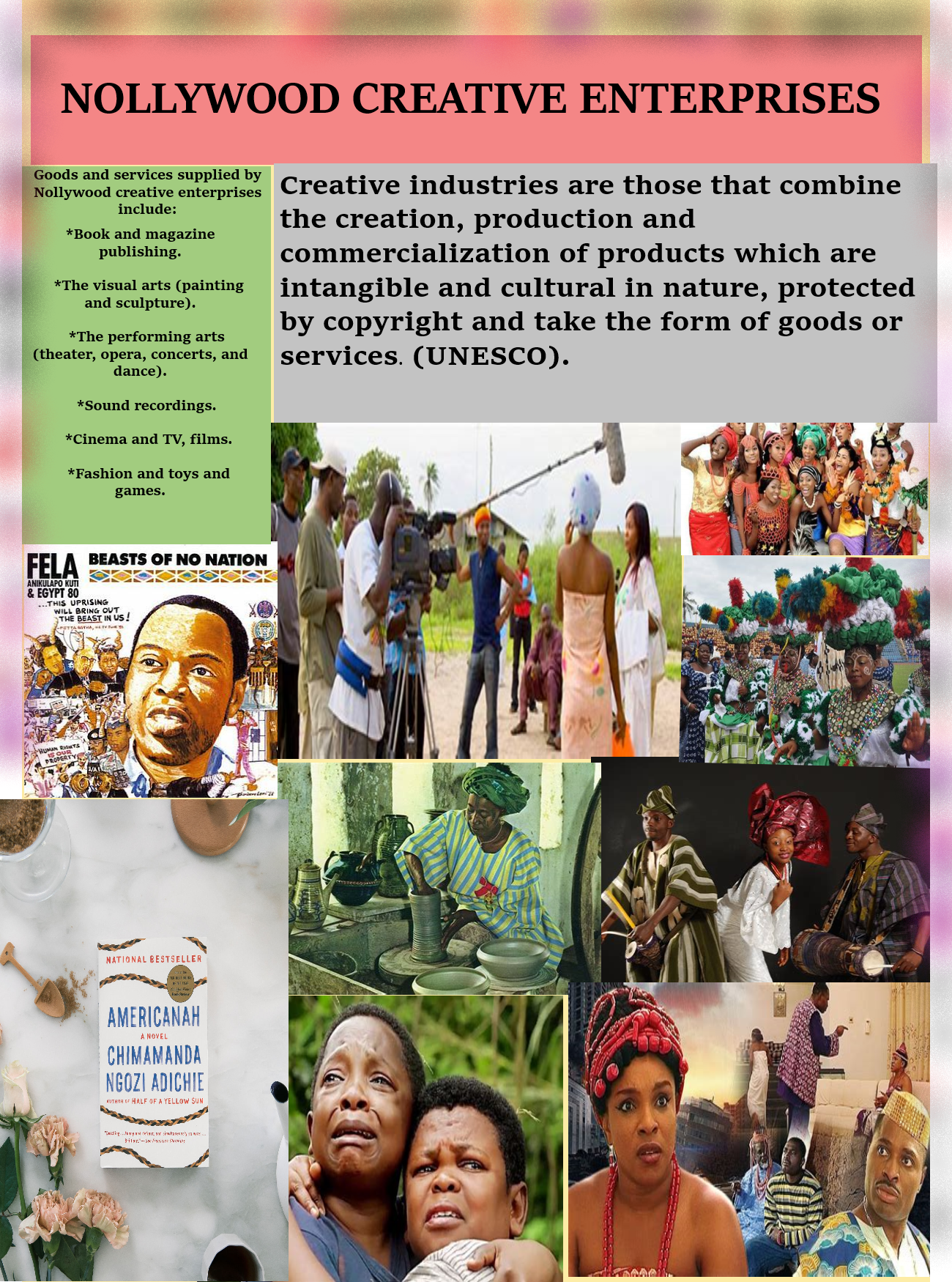 Nollywood creative enterprises