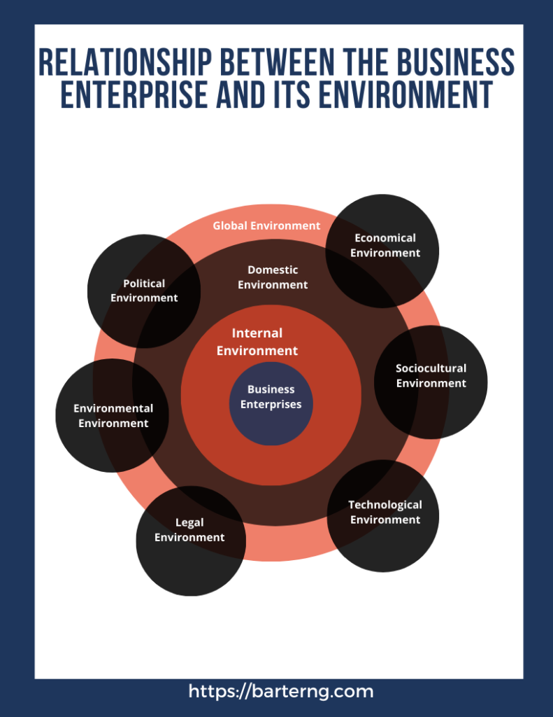 The enterprise and the Nigerian business environme