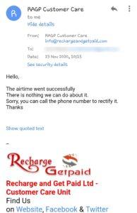 RAGP customer service