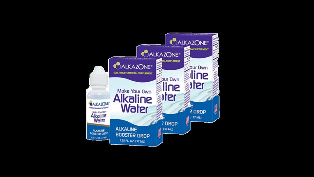 Make water alkaline in Nigeria -alkazone drops